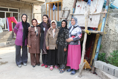 Participants, The Voided Loom,  Kelardasht, Iran, 2010