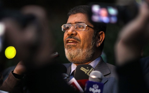 Egyptian President Mohammed Morsi  (Source: AFP / GETTY)