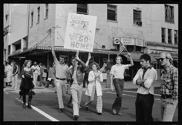Iranian Hostage Crisis Demonstration in Washington, D.C., 1979 (Marion S. Trikosko / Library of Congress)