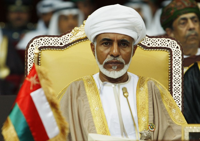 Sultan Qaboos (Source: Reuters)