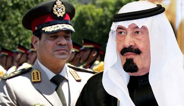 Saudi King paid 1$ bn to help remove Morsi