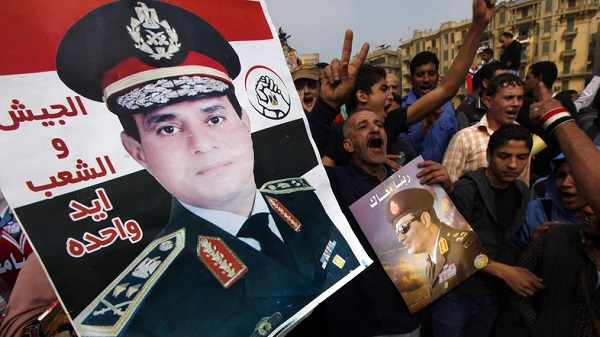 General Sisi could be Egypt's next president, but his election will not solve Egypt's problems. (Photo Credit: Al Arabiya).