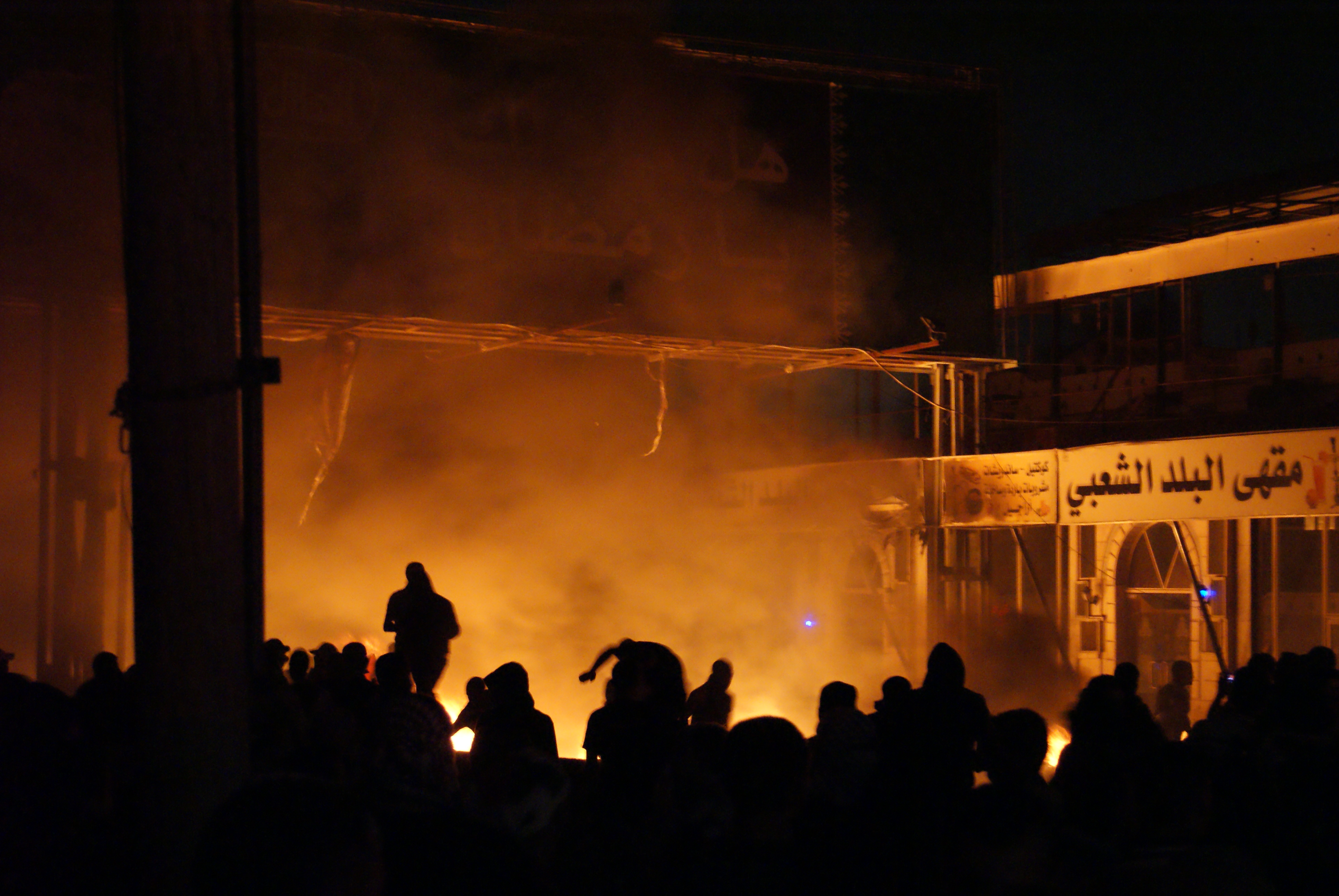 July 23, 2014 protests in Ramallah, West Bank ((c) Khalid Diab)