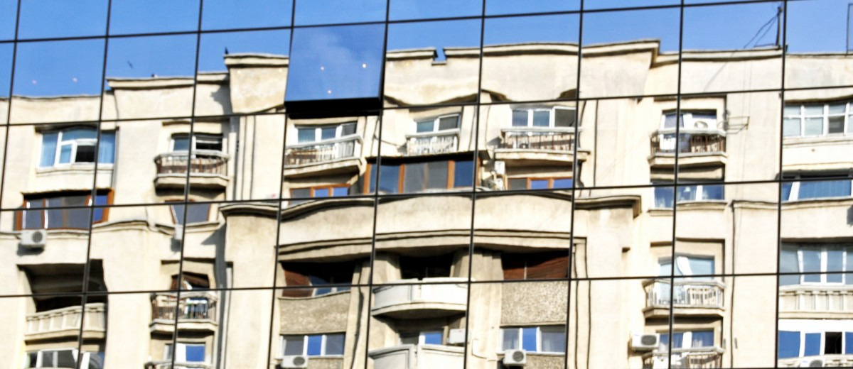 Dennis Jarvis - apartment reflections Romania
