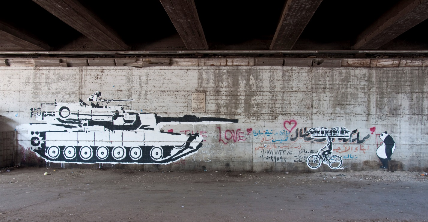 telling the story of the arab spring an interactive graffiti map