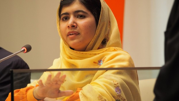 Malala Yousafzai via Wikimedia commons.