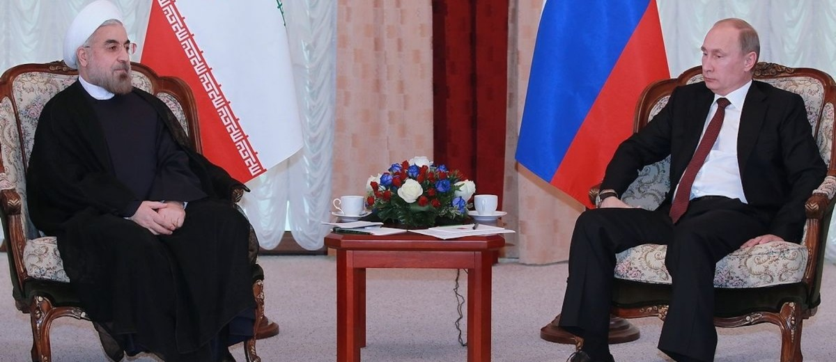 Vladimir Putin meeting with Hassan Rouhani, 13 September 2013 (Photo credit: Russian Presidential Press and Information Office)