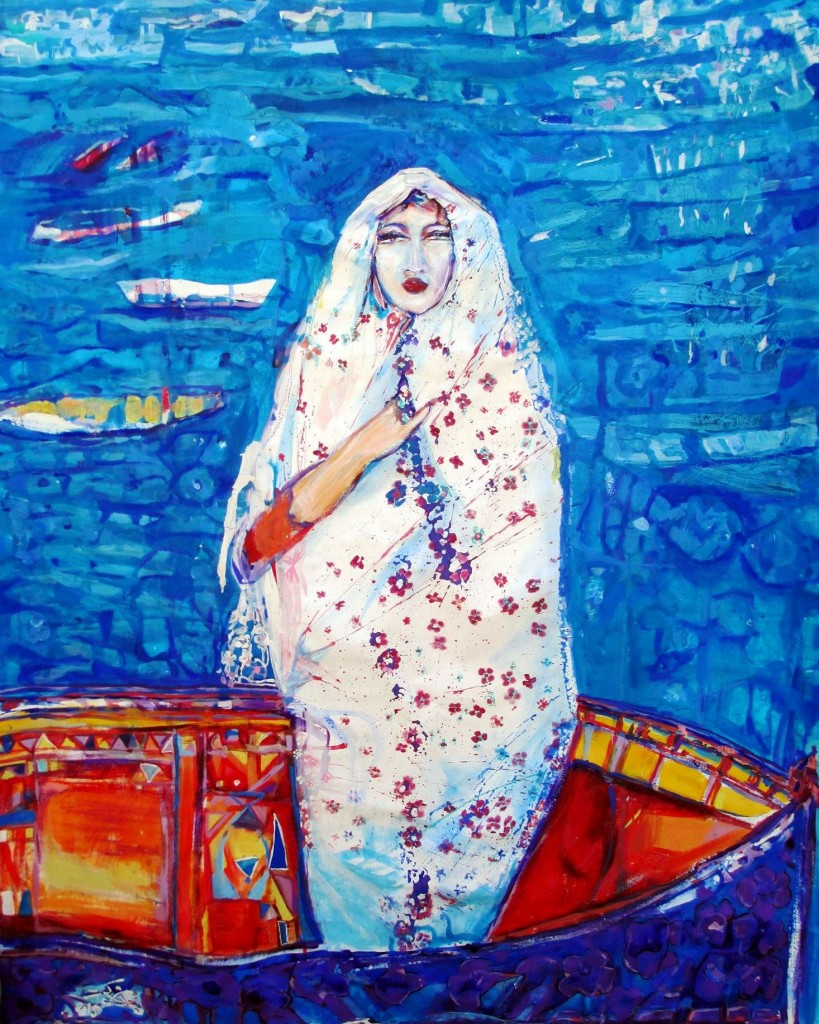 'Bride of the Med' by Najla Shawket Fitouri. Photo Credit: Noon Arts