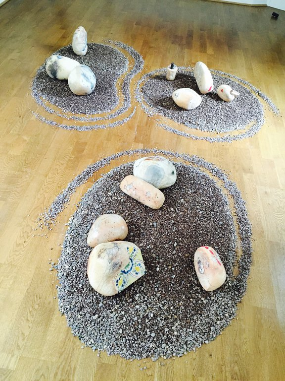 'Tripoli Pebbles' by Hadia Gana. Photo Credit: Noon Arts