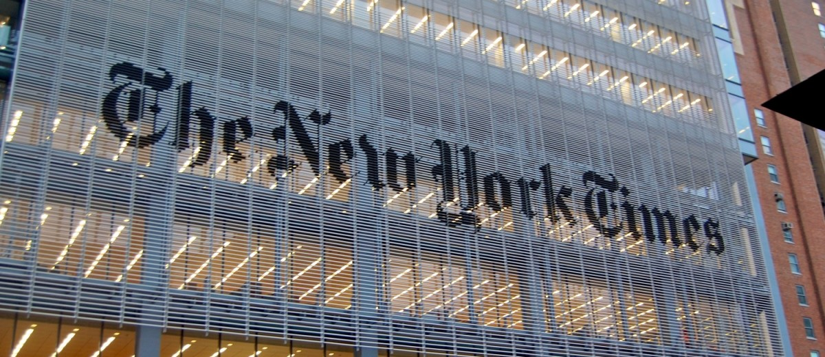 The New York Times headquarters 620 Eighth Avenue in New York City (credit: Wikipedia).