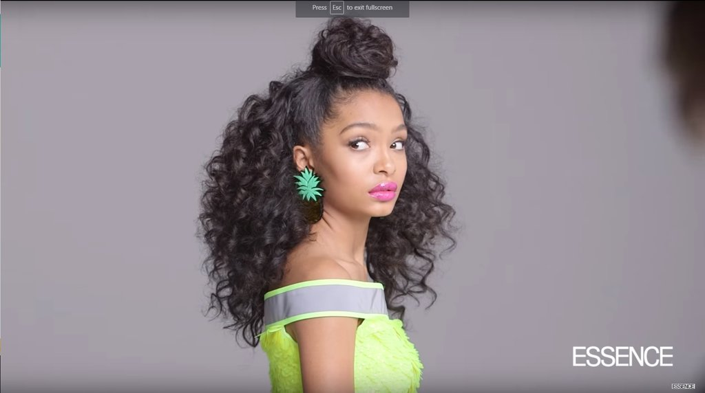 Yara Shahidi The Iranian American Star Of Black Ish Is