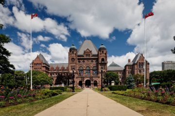 "Ontario legislative building, popularly referred to as ""Queen's Park."" June 29, 2010. (Photo credit: Benson Kua)"