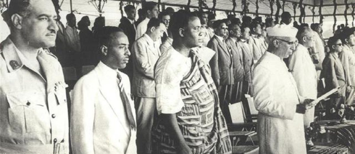 Asian and African countries of the Global South meet at Bandung 1955